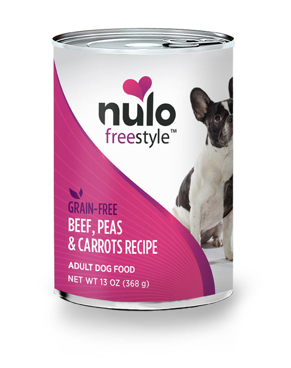 NULO Dog Canned Adult - Beef, Peas & Carrots Recipe