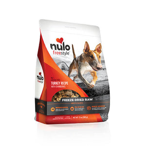 NULO Dog Food Freeze-Dried Raw - Turkey with Cranberries