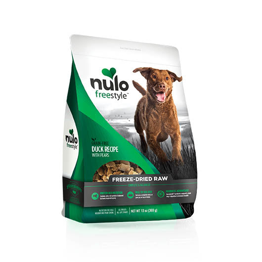 NULO Dog Food Freeze-Dried Raw - Duck with Pears