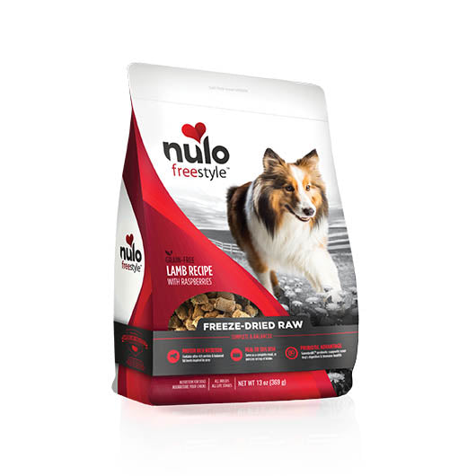 NULO Dog Food Freeze-Dried Raw - Lamb with Raspberries