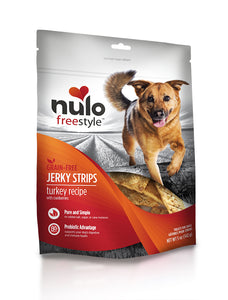 NULO Dog Treats Jerky Strips - Turkey with Cranberries
