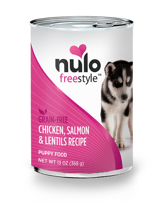 NULO Dog Canned Puppy - Chicken, Salmon, & Lentils