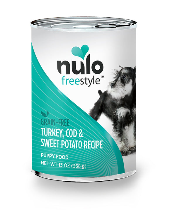 NULO Dog Canned Puppy - Turkey, Cod, & Sweet Potato