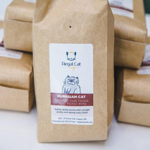 Coffee Beans - PURRsian Cat (light roast) 454g