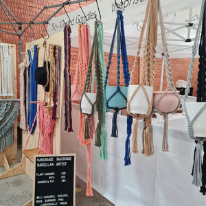 Plant Hangers, Vases and Shelves