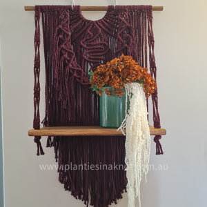 Macrame Shelves