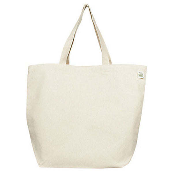 Recycled Cotton Canvas Shopping Tote