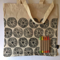 Color Your Own Market Tote