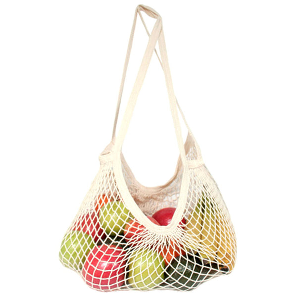 Organic Cotton String Bag (Long Handles)