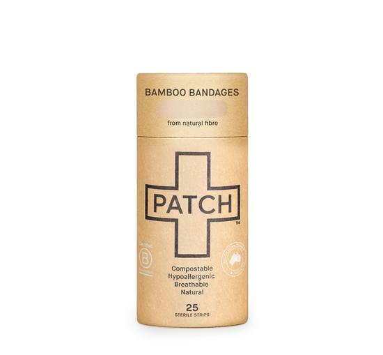 PATCH Natural Bamboo Bandages - Tube of 25
