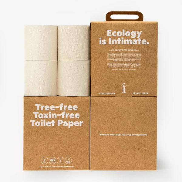 Tree and Toxin Free Toilet Paper - PlantPaper