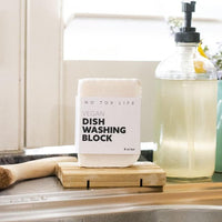 Zero Waste Dish Washing Block (5.9 oz)