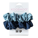Plastic-free, Organic & Biodegradable Scrunchies