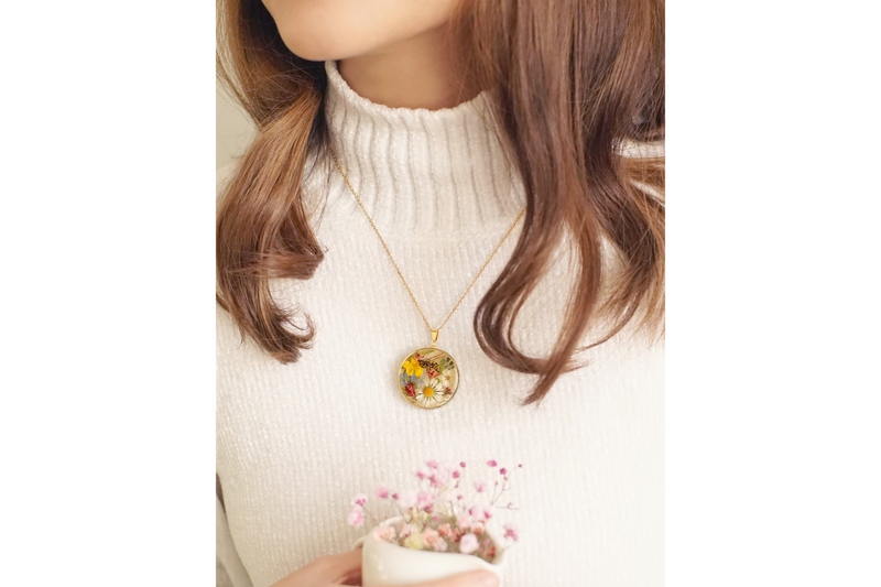 'ONE SUMMER'S DAY' TREASURE LOCKET NECKLACE