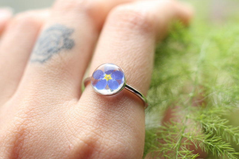 'Yakusoku' the Forget-me-not ring