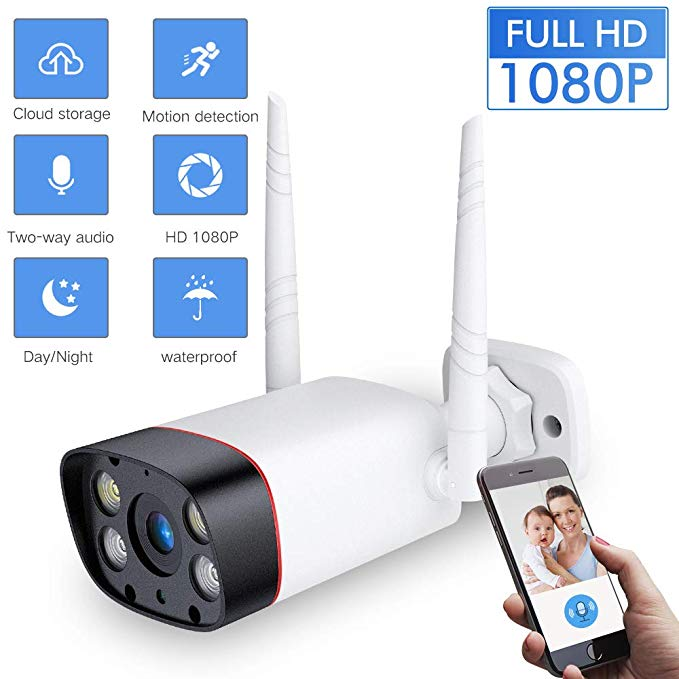 EAGLEMASTERSIGHT™ WiFi Outdoor/Indoor Security Camera Waterproof Wireless CCTV Infrared Night Vision Audio Motion Alarm P2P Cam - thesuperdealshop