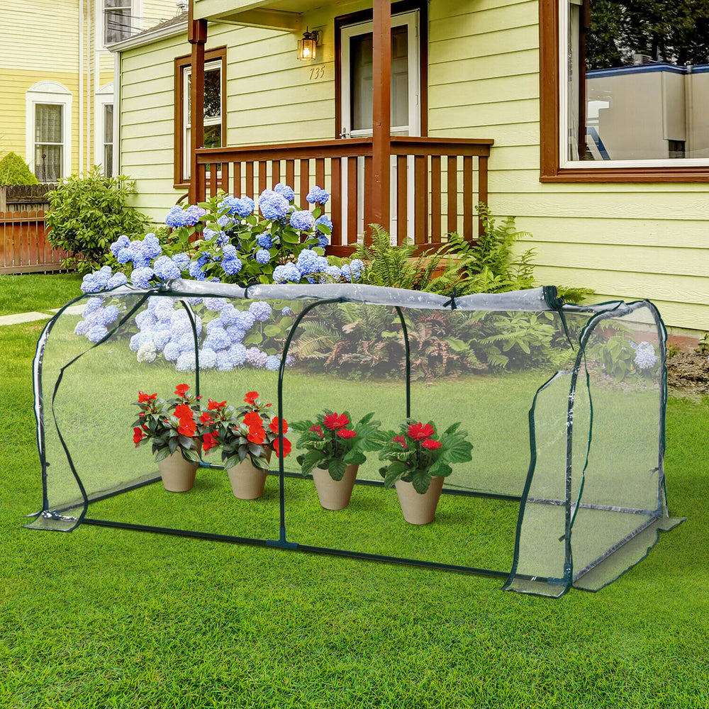GreenX™ Portable Mini Greenhouse Home DIY Flower House Hot Tunnel