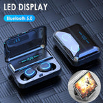 DEEPSURROUND™ 5.0 Bluetooth Wireless Earphones - Touch Control - Earbuds - Charging Case box - waterproof - noise cancelling - thesuperdealshop