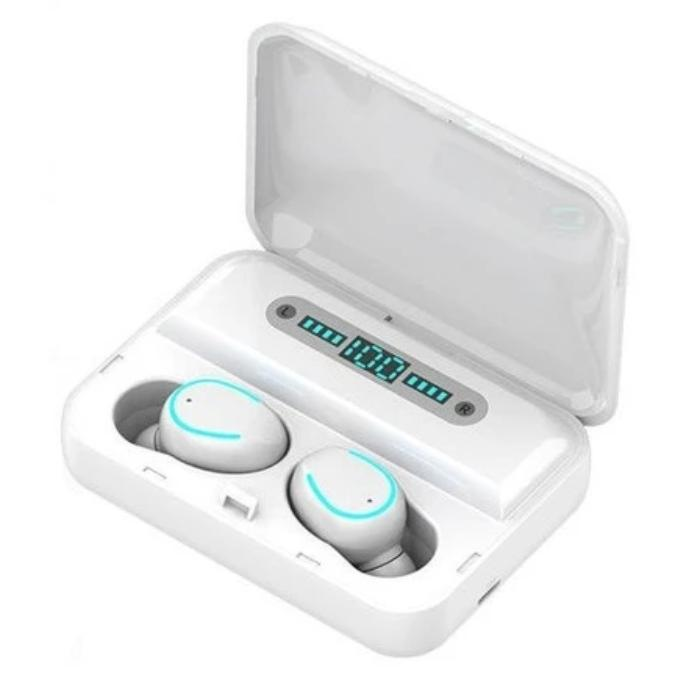 DEEPSURROUND™ 5.0 Wireless Bluetooth Earbuds Earphones with charging case - Waterproof - Noise Cancelling