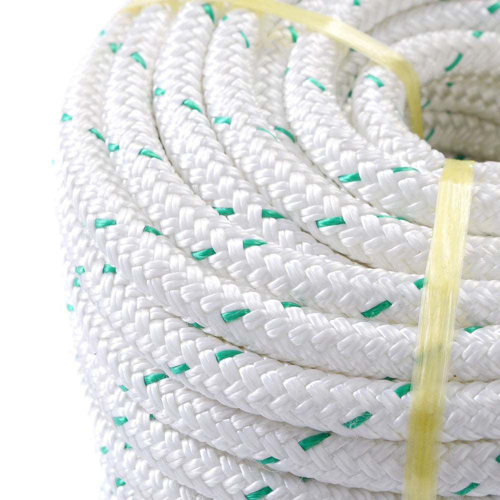 "Double Braid Climbing Rope - 3/7"" - 150 ft - 5900 lb Break Strength - CartUp.com"