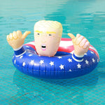 Donald Trump Blow Up Pool Float Fun Inflatable Swimming Pool Party Gag Gift
