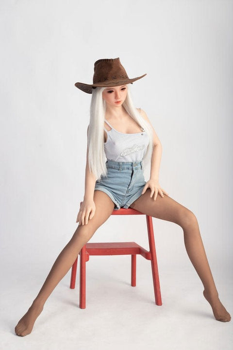 Molly-Long legs oval face charming sexy TPE sex doll