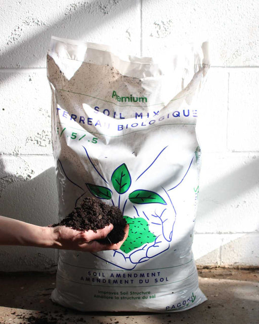 CERTIFIED ORGANIC GARDENING SOIL (20L BAG)