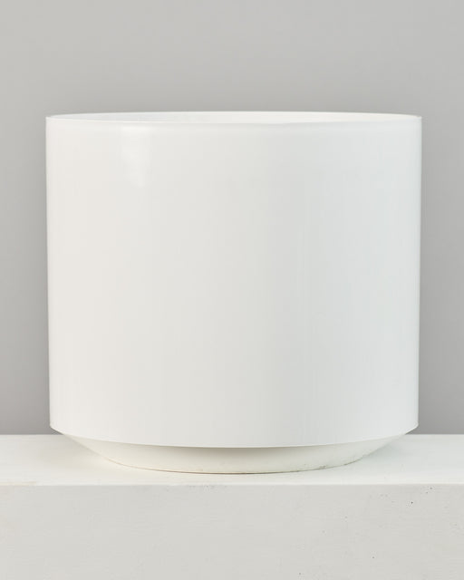 ATLAS PLANTER (WHITE) Large 21 Inch