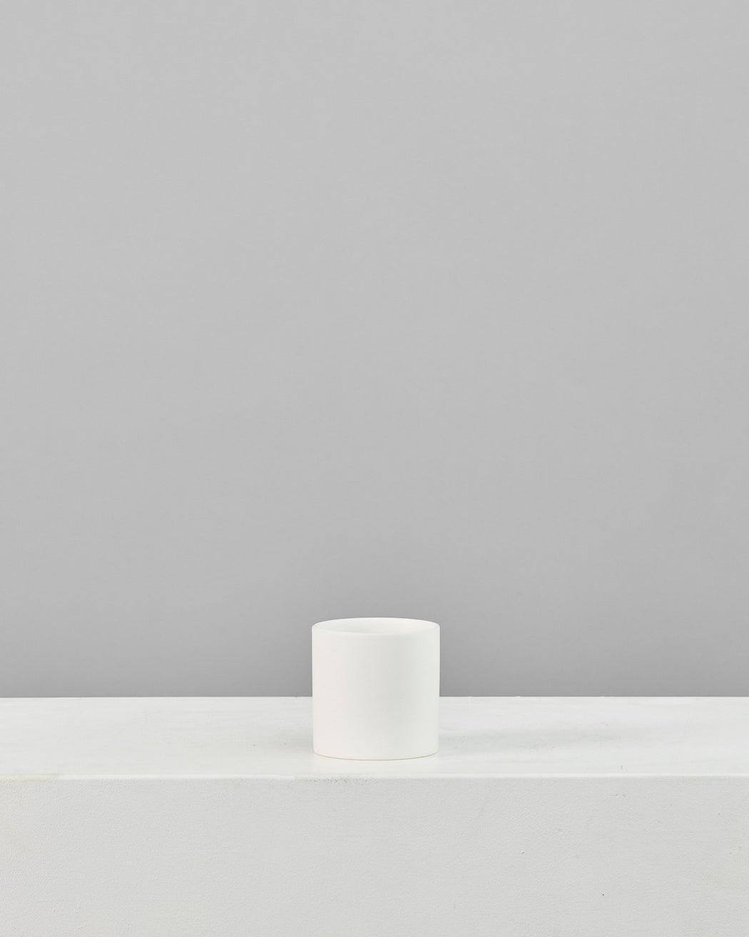 CERCLE PLANTER Matte White, Small 4.25 Inch