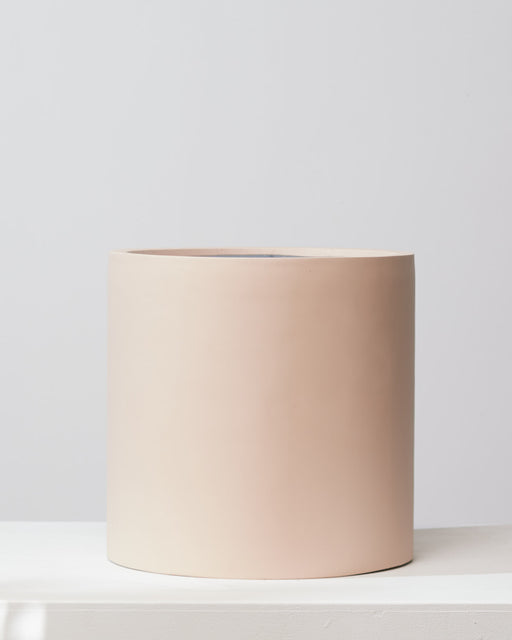 COMMON HOUSE - 'BAKED CLAY' CYLINDER PLANTER - Large 16 Inch