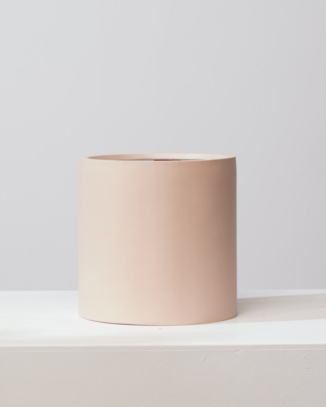 COMMON HOUSE - 'BAKED CLAY' CYLINDER PLANTER - Medium 12 Inch