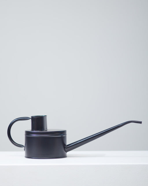 BLACK WATERING CAN - LONG