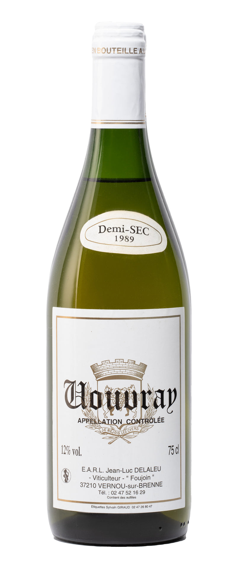Vouvray Semi-Dry 1989