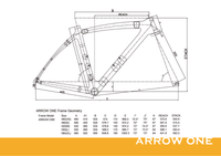 ARROW ONE - FRAMESET ONLY