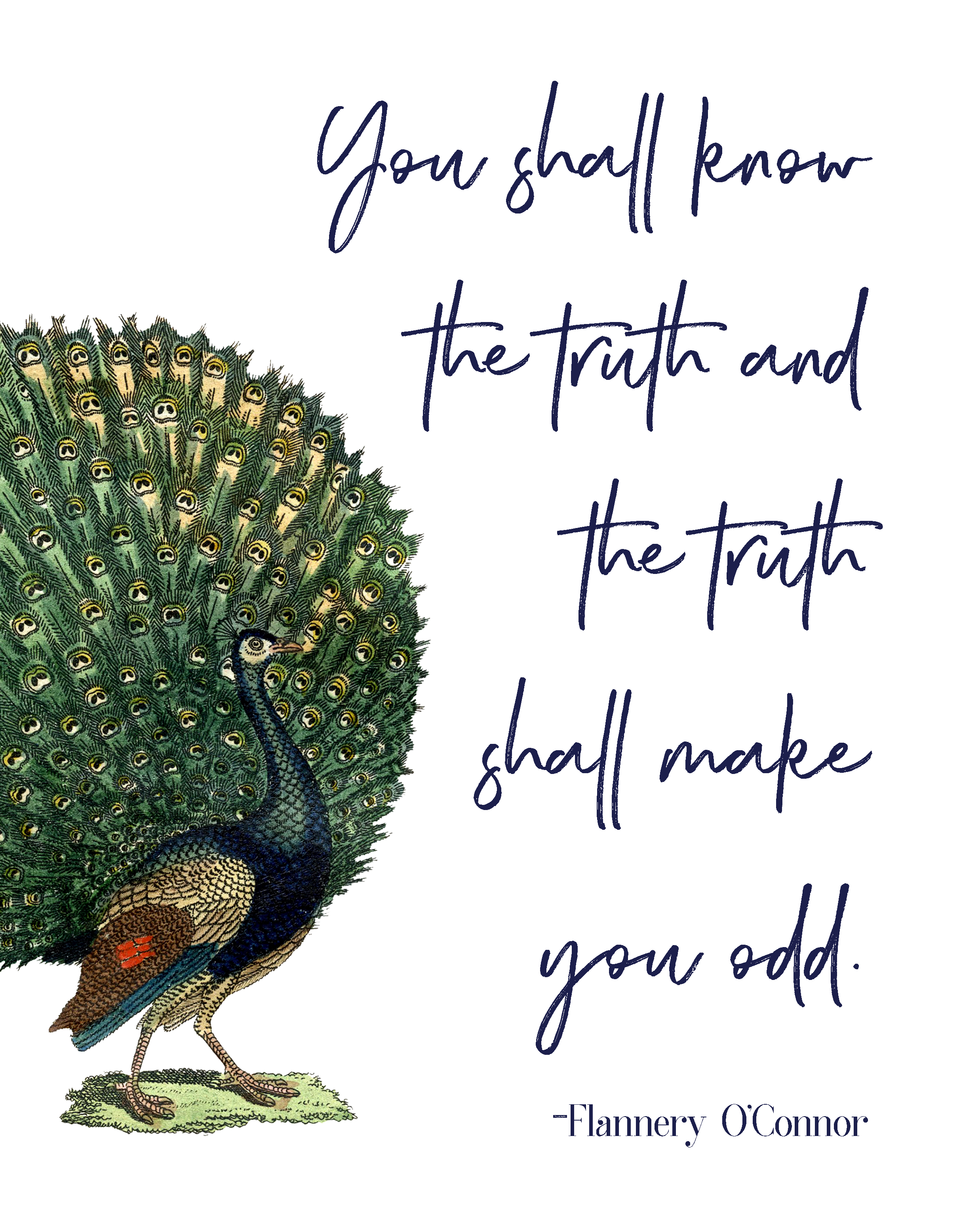 You Shall Know the Truth 8x10 Print
