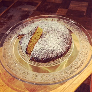 Gluten Free & Dairy Free Coconut & Almond Cake