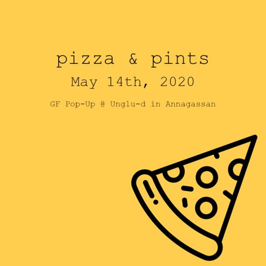 Pizza & Pints Pop-Up Event - You Don't Wanna Miss This !