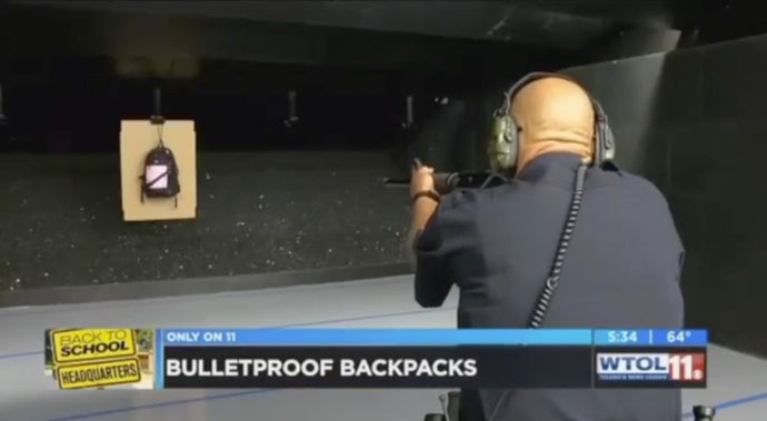 CBS: Can your backpack Stop a Bullet?