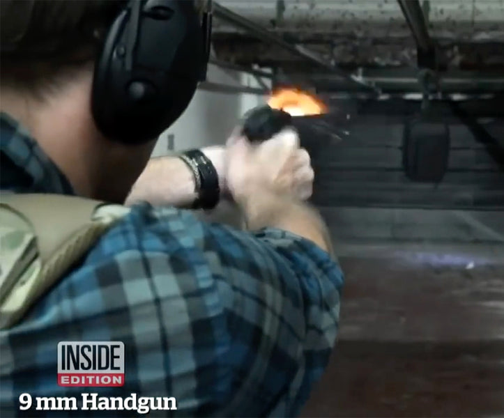 Inside Edition: Can you believe Bulletproof backpacks?