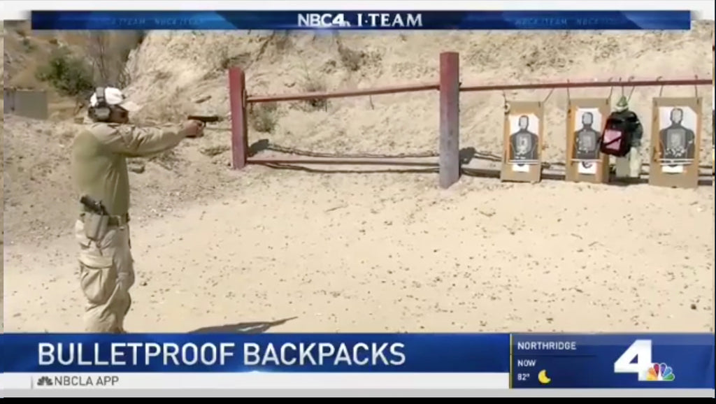 NBC: Bulletproof Backpacks put to the test