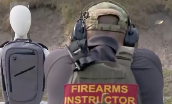 NBC: How to Use Your Bulletproof Backpack on WESH2