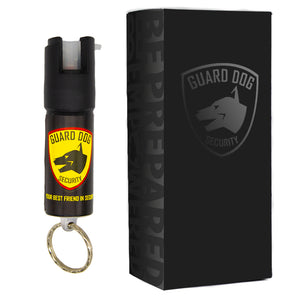 3-IN-1 Tear Gas - 1/2 oz. Keychain Pepper Spray