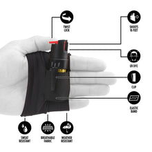 Load image into Gallery viewer, InstaFire  - 1/2 oz.  Pepper Spray with Activewear Hand Sleeve