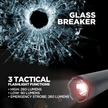 Load image into Gallery viewer, Titan - 260 Lumens - Stun Gun Baton