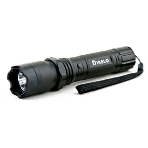 Stun Gun Flashlight With 160 Lumens - Diablo