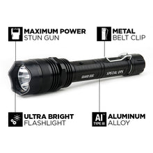 Load image into Gallery viewer, Special Ops - 380 Lumens - Tactical Flashlight