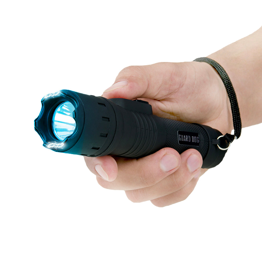 Stun Gun Flashlight With 110 Lumens - Stealth