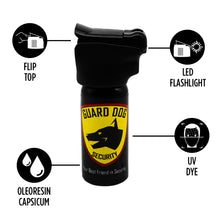 Load image into Gallery viewer, LED - Flip-Top Pepper Sprays in 2oz. & 4oz.