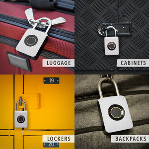 Biometric Padlock with Fingerprint Access