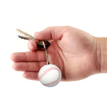 Load image into Gallery viewer, Sports Keychain Alarm - Baseball